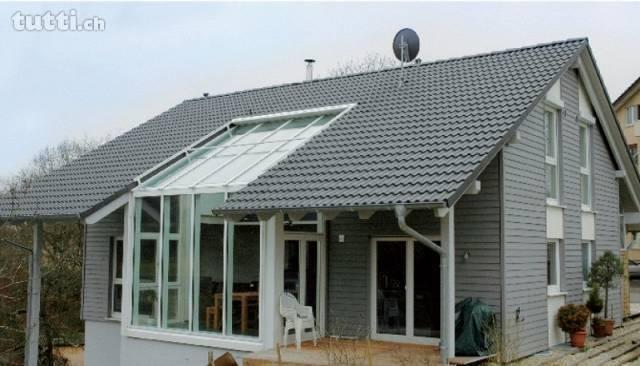 Ökoholzhaus in Toplage mit grossem Grundstück