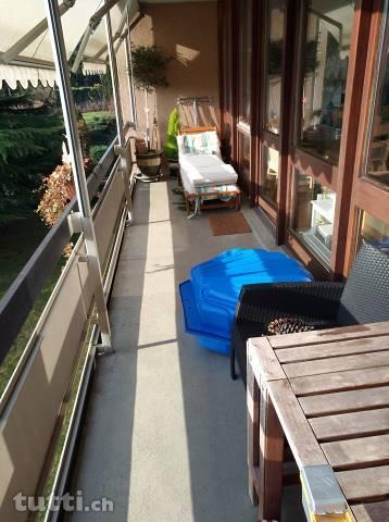 Wohnung im Grünen mit viel Sonnenschein